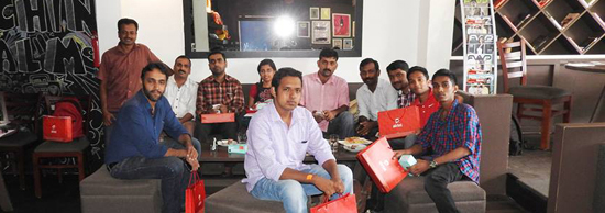 Airtel 4G blogger preview - cochin cafe 17