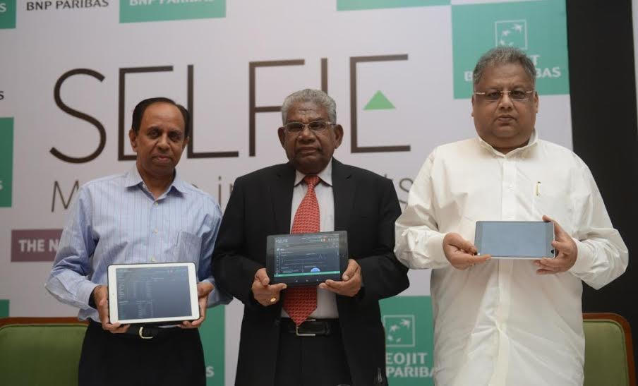 Selfie was launched by Rakesh Jhunjunwala