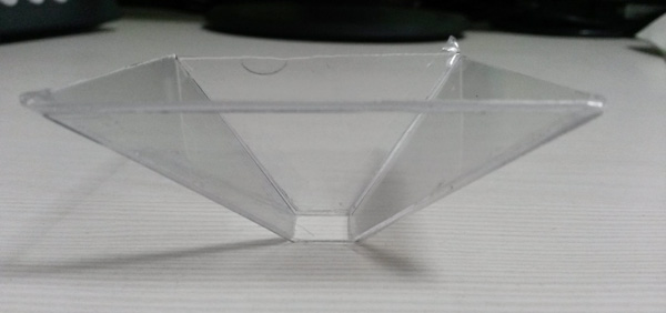 3d hologram pyramid step 2